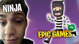 Ninja ROBBED BY EPIC GAMES - Fortnite Battle Royale WTF & Funny Moments Episode. 158