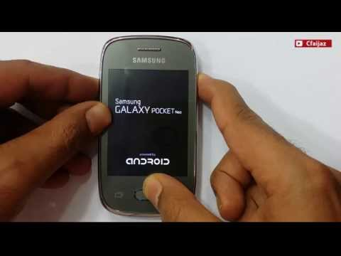 How To Hard Reset/ Factory Reset Samsung Galaxy Pocket Neo (GT-S5310I, GT-S5312)