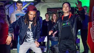 MARQUESE SCOTT IN ANIMATION  DANCE CYPHERS IN MOSCOW
