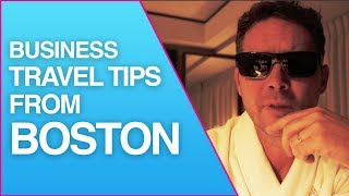 VLOG #1   Business Travel Tips From Boston