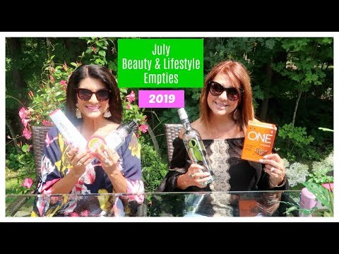 July Beauty & Lifestyle Empties | 2019 | The2Orchids