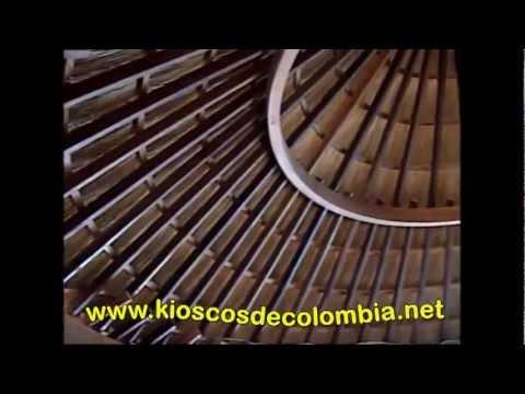Kioscos de colombia 11 youtube for Kioscos prefabricados de madera