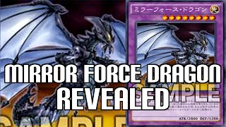 Yugioh Mirror Force Dragon - Critias & Mirror Force Fusion Monster