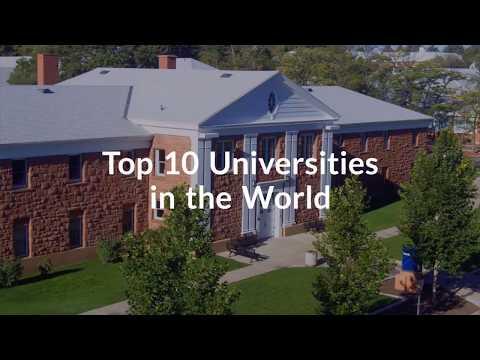 Top 10 The Best Universities In The World