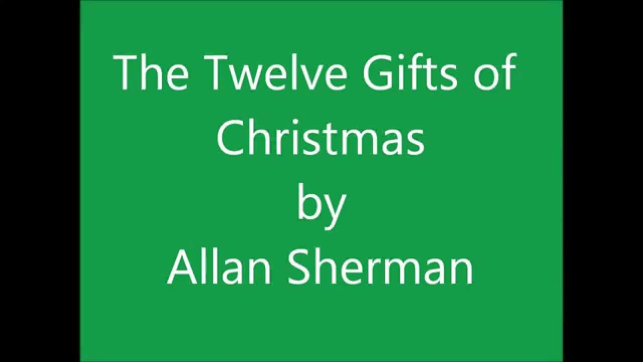 The Twelve Gifts of Christmas by Allan Sherman - YouTube