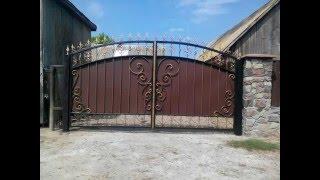 Кованые ворота своими руками. Первая работа.(, 2016-03-17T18:46:22.000Z)
