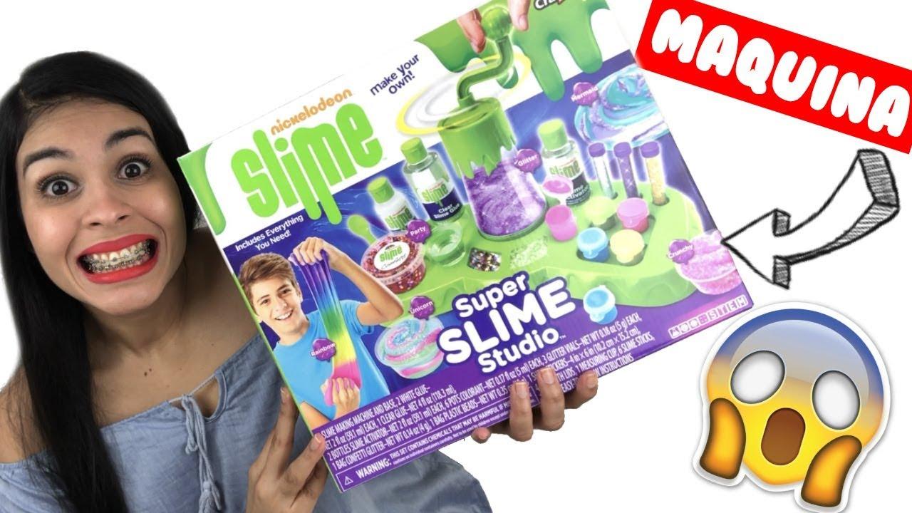La mejor f brica de slime nickelodeon super slime for Super studio