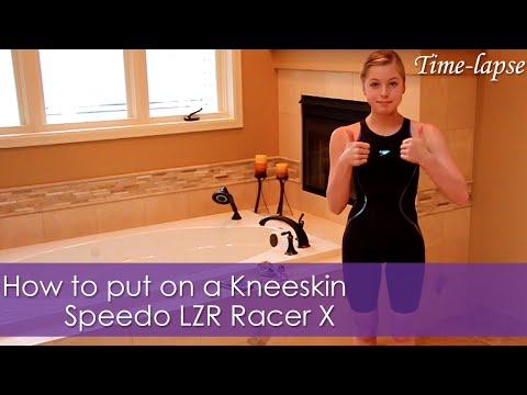 how-to-put-on-a-kneeskin-|-speedo-lzr-racer-x-|-time-lapse