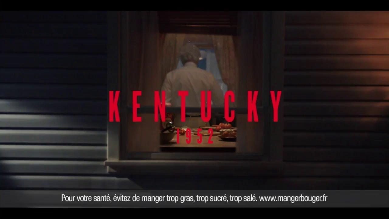 """Musique de la pub Kentucky 1952 KFC """"notre poulet croustillant est toujours aussi croustillant"""" Pub 45s Mai 2021"""