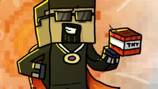 How REAL Men Draw Minecraft Art! (Designs by Chewtoons)