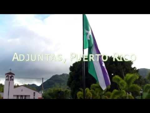 Adjuntas, Puerto Rico  Bandera  Flag
