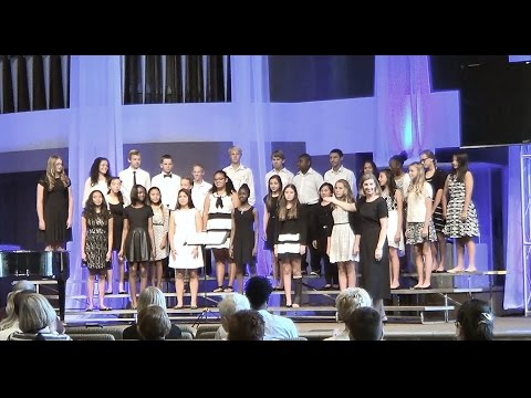 VCMS CHOIR AT 2015 FINE ARTS FESTIVAL - Valley Christian Middle School