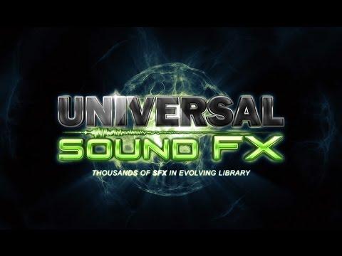 Universal Sound FX - Version 1.3 Intro