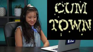 college kids react to cumtown