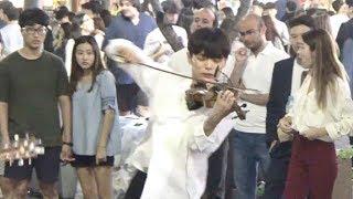 바이올린 소년 미친듯한 라이브 - 스무스 크리미널 (가능동)