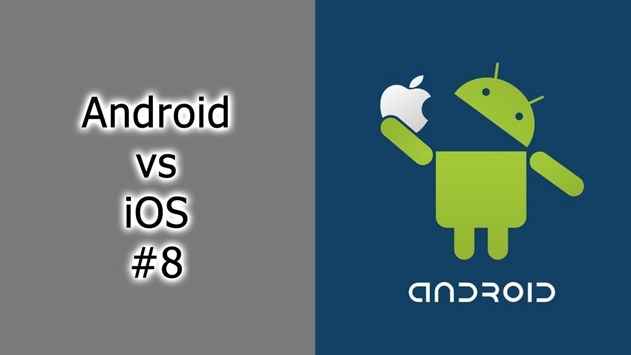 Android vs. iOS - Что лучше? - YouTube