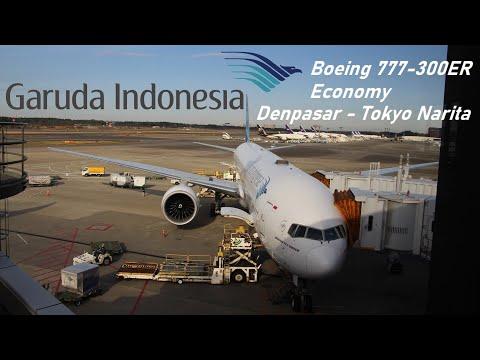 ✈️ FLIGHT REPORT ✈️ Garuda Indonesia - Denpasar to Tokyo Narita - Boeing 777-300ER
