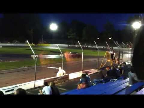 Lake county speedway Figure 8 racing