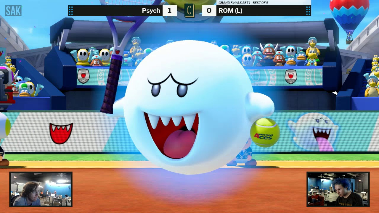 Chronicles: Aces Mario Tennis Grand Finals - ROM vs Psych