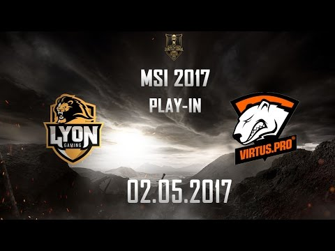 [02.05.2017] LYN vs VP [MSI 2017][Play-in]