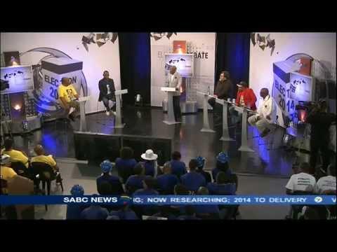 National Election Debate, 06 April 2014