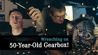 Wrenching On A 50-Year-Old Gearbox And Chasing OIL LEAKS!