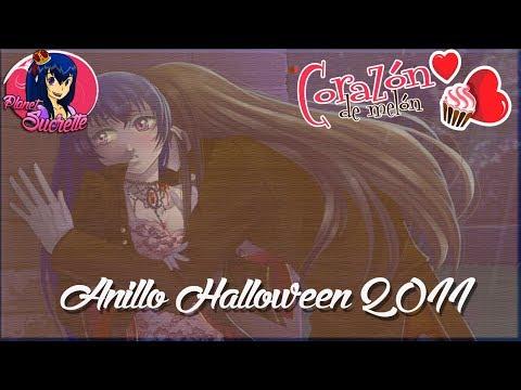 Corazón de melón Anillo Halloween 2011