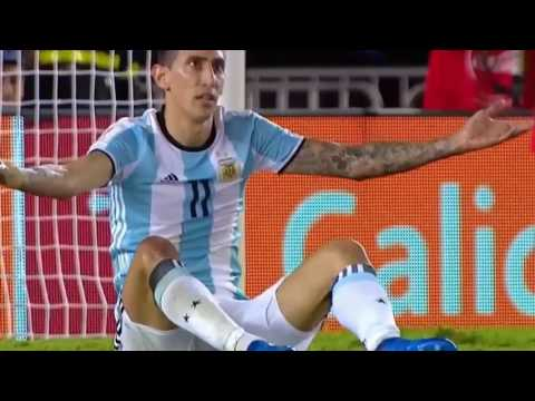 Lionel Messi Penalty Goal - Argentina vs Chile 23.03.2017 - World Cup Qualifier 2018