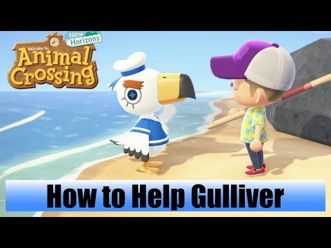 Animal Crossing: New Horizons – How To Help Gulliver