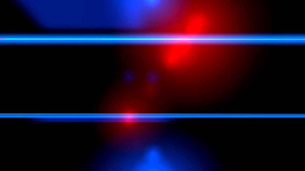 Red And Blue Flashing Lights