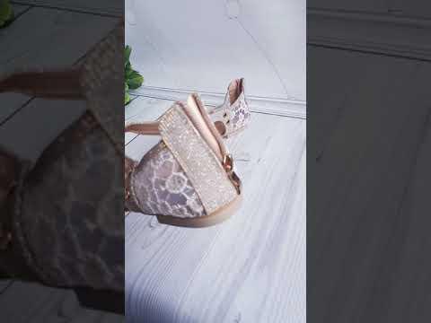 Женские босоножки, сабо с розовинкой