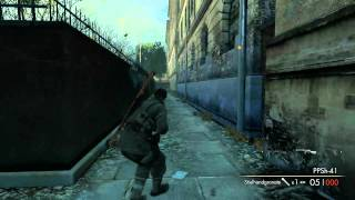 Sniper Elite V2 Gameplay (PC) [1080p]