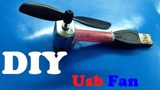 Make a powerful Usb Fan - Very Simple
