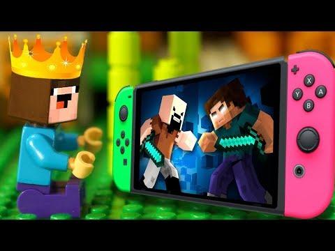 ЦАРЬ 👑 НУБик ГОЛОВА КУБИК - LEGO Minecraft Мультики и Анимация