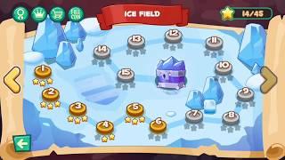 Jungle Adventures: Super World   Ice Field   Gameplay Video Walkthrough part 8