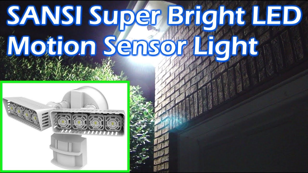 Sansi super bright led motion sensor security light 3400 lumens sansi super bright led motion sensor security light 3400 lumens aloadofball