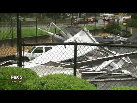 Lilburn storage storm damage