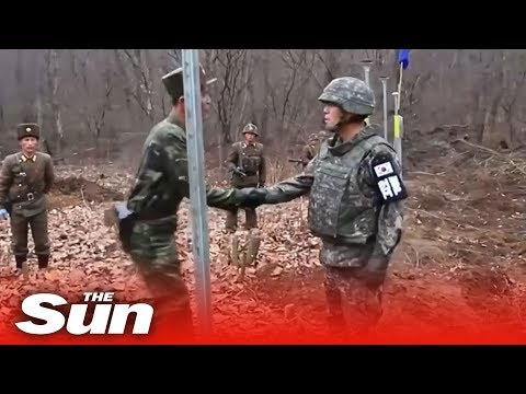 North And South Korea Join Roads After 14 Years