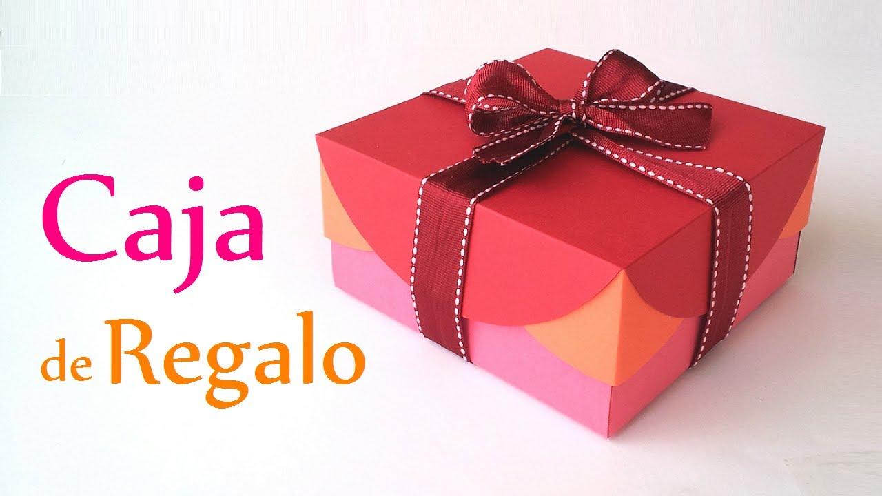38348ad2a Manualidades: CAJA de REGALO (Fácil) - Innova Manualidades - YouTube