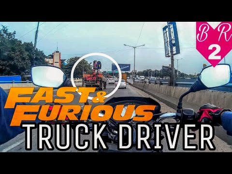Bangalore Roads - 2 | Fast & Furious truck driver | Mr hero on Pulsar | Power of my bike