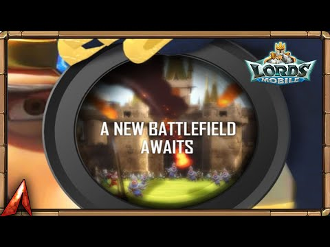 A New Battlefield Awaits!? Lords Mobile