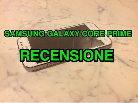Samsung Galaxy Core Prime LTE - recensione in italiano