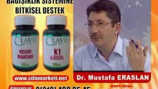 Dr Mustafa Eraslan Ölümsüzlük Mantarı Reishi Mantar | 0212 438 35 45