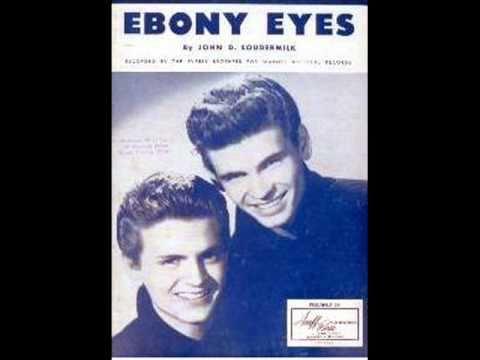 the everly brothers ebony eyes