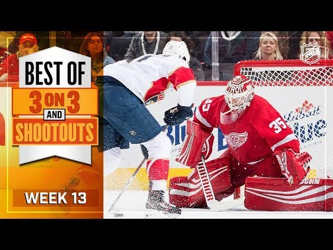 Best 3-on-3 and Shootout Moments from Week 13