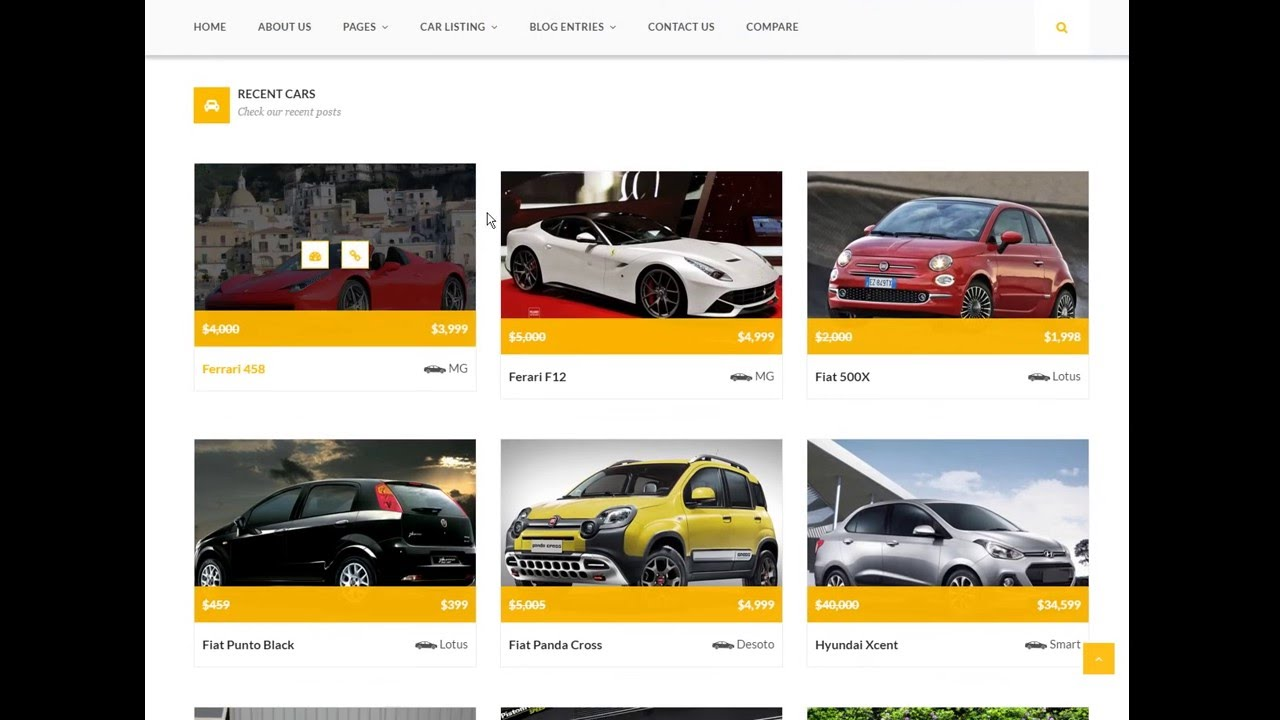 Download Free Car Dealer Wordpress Theme Auto Car With Source Code