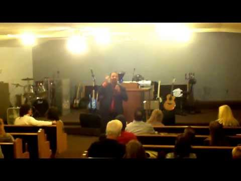 Pastor Larry Mills/Rock Assembly Church of God-4/21/13-Sunday morning service