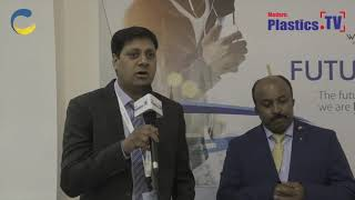 An exclusive interview with Mr. Manoj Singh at IndPlas 2018, Kolkata. www.ModernPlastics.TV