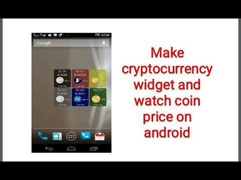Cryptocurrency Widget For Android_MoX