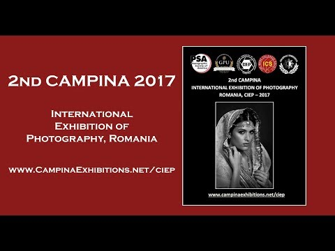 2nd CAMPINA 2017 International Exhibition of Photography, Romania